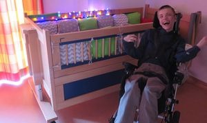 "Therapy Beds for the Children of ""Zwerg Nase"" House"
