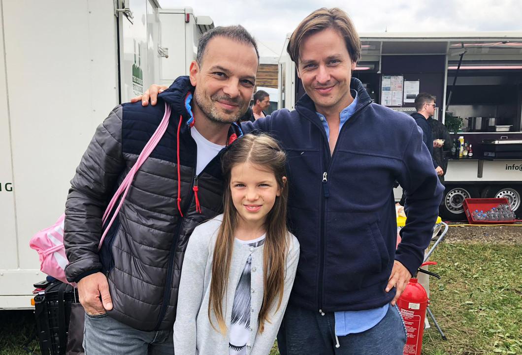 Virgil und seine Tochter mit Tom Schilling