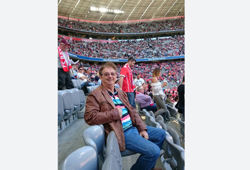 Joachim in der Allianz Arena