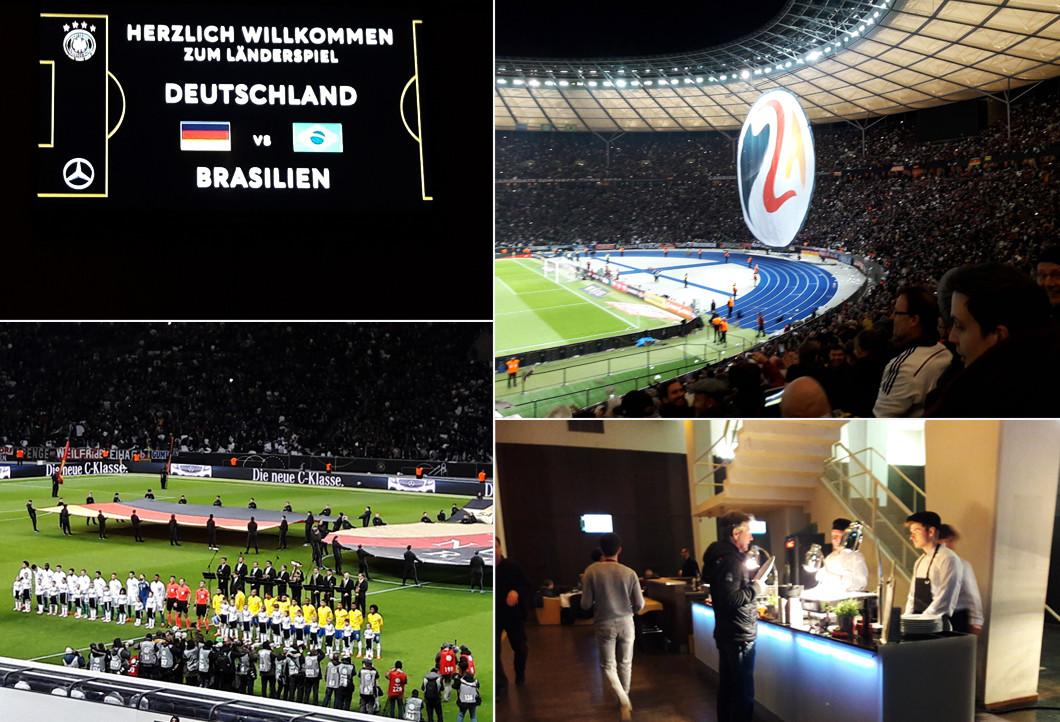 VIP-Erlebnis beim Länderspiel
