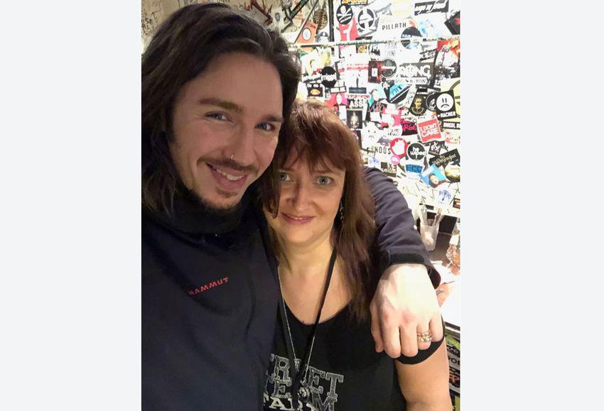 Nicole begleitete Gil Ofarim beim Tourkonzert