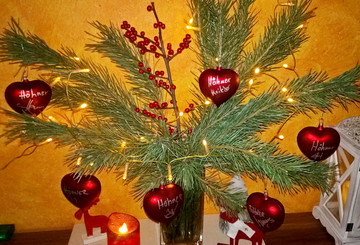 Die Höhner als Weihnachtsschmuck