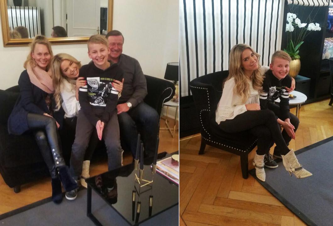 Marcs Familie mit Sylvie Meis