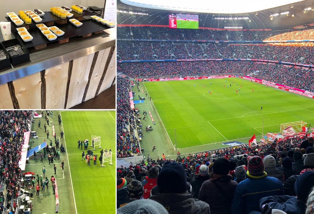 Beste Plätze in der Allianz Arena beim Match gegen Hertha BSC