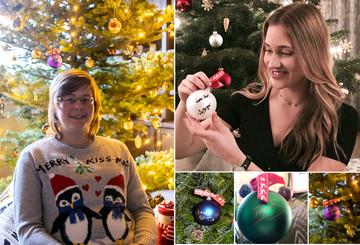 Immer mehr Promi-Weihnachtskugeln kommen an!