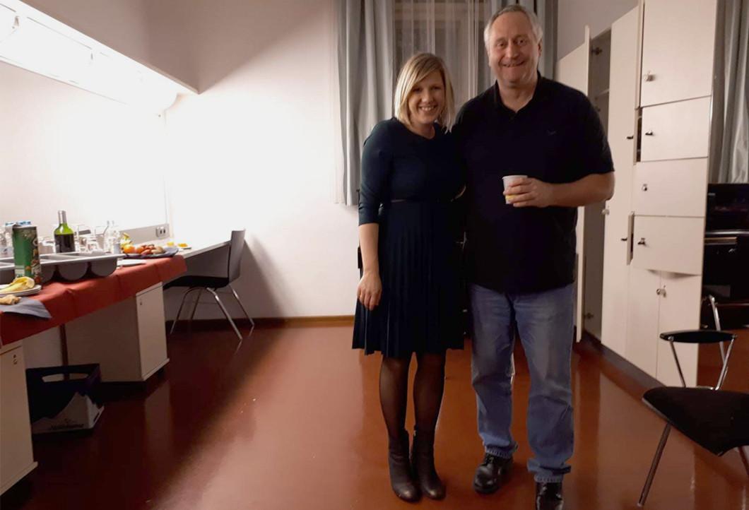 Meet & Greet im Münchner Prinzregententheater