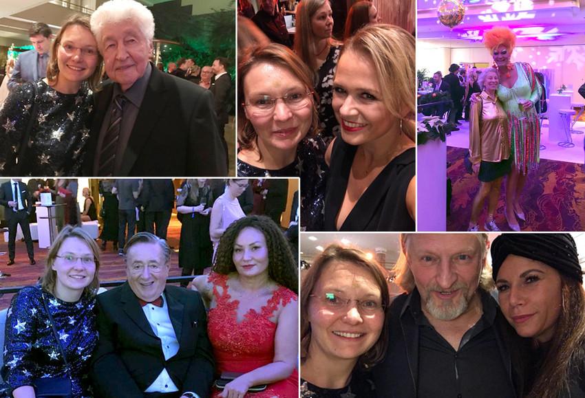Olivia Jones und viele Stars bei Movie meets Media getroffen