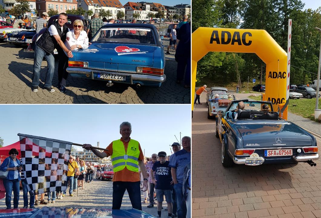 Mit Lili Reisenbichler bei der ADAC Sunflower Rallye