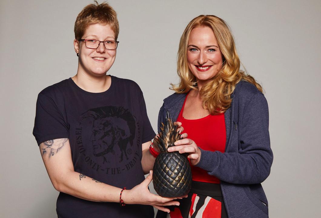Hanna mit Eva Mona Rodekirchen