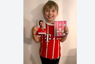 Roberts Sohn freut sich über sein ganz persönliches FIFA18
