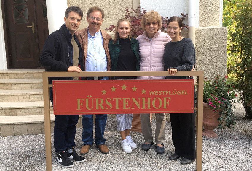 """""""Sturm der Liebe"""" set visit ensures enthusiasm!"""