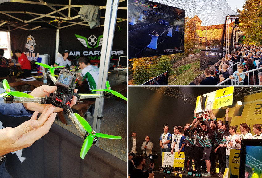 A trip to the Drone Champions League in Switzerland!
