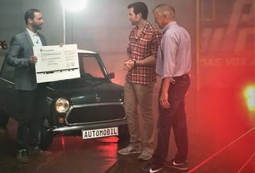 VOX & die DKMS freuen sich über den Erlös von 26.600 Euro