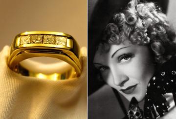 Der Ring von Marlene Dietrich